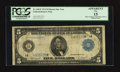 Large Size:Federal Reserve Note, Fr. 846* $5 Federal Reserve Note PCGS Apparent Fine 15.. ...