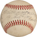 "Autographs:Baseballs, 1970 Roberto Clemente Single Signed ""Last Game of Forbes Field"" Baseball...."