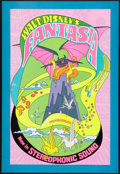 "Movie Posters:Animation, Fantasia (Buena Vista, R-1970). One Sheet (28"" X 41""). Animation.. ..."