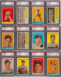 Baseball Cards:Lots, 1958 Topps Baseball #'s 111-199 PSA NM-MT 8 Collection (80Different). ...