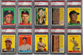 Baseball Cards:Lots, 1958 Topps Baseball #'s 400-474 PSA NM-MT 8 Collection (68Different). ...