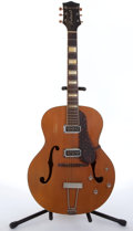 Musical Instruments:Electric Guitars, Vintage Bacon Belmont By Gretsch Natural Archtop Electric Guitar #N/A....