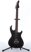Musical Instruments:Electric Guitars, 1985 Aria Pro 2 RS Knight Warrior Black Electric Guitar#5022458....