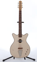 Musical Instruments:Electric Guitars, 1959 Danelectro Convertible Natural Electric Guitar # N/A....