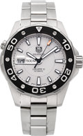 Timepieces:Wristwatch, Tag Heuer Aquaracer Calibre 5 Automatic Steel Divers Watch. ...