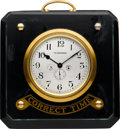 """Timepieces:Other , Waltham """"Correct Time"""" Jeweler's Eight Day Display With Up/Down Indicator, circa 1915. ..."""