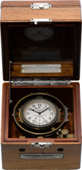 Timepieces:Other , Hamilton Model 22 Deck Watch, circa 1943. ...