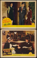 """Movie Posters:War, Appointment in Berlin Lot (Columbia, 1943). Lobby Cards (2) (11"""" X14""""). War.. ... (Total: 2 Items)"""
