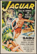 "Movie Posters:Adventure, Jaguar (Republic, 1955). One Sheet (27"" X 41""). Adventure.. ..."