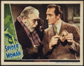 """Movie Posters:Mystery, The Spider Woman (Universal, 1944). Lobby Card (11"""" X 14"""").Mystery.. ..."""