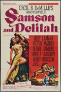 "Movie Posters:Adventure, Samson and Delilah (Paramount, 1949). One Sheet (27"" X 41"") StyleA. Adventure.. ..."