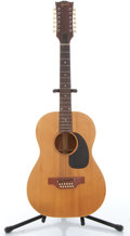Musical Instruments:Acoustic Guitars, 1968 Gibson 12-String Natural Acoustic Guitar # 893401....