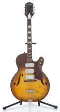 Musical Instruments:Electric Guitars, 1959-64 Silvertone By Kay H1429 Sunburst Electric Guitar #2056H1429....