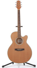 Musical Instruments:Acoustic Guitars, 2005 Takamine EG544SC-4C Natural Electric Acoustic Guitar, # 5015006....