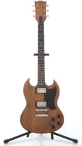 Musical Instruments:Electric Guitars, 1979 Gibson SG Natural Electric Guitar # 71999654....