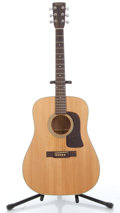Musical Instruments:Acoustic Guitars, 1981 Washburn D-27S Natural Acoustic Guitar #780581....