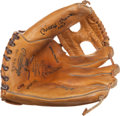 "Autographs:Others, Circa 1990 Mickey Mantle ""No. 7"" Signed Fielder's Glove...."