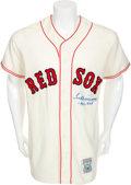 "Autographs:Jerseys, Circa 1990 Ted Williams ""1941-.406"" Signed Jersey...."