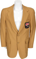 Football Collectibles:Uniforms, Early 1980's Ray Nitschke Personal NFL Alumni Jacket....