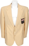 Football Collectibles:Uniforms, Mid-1980's Ray Nitschke Personal NFL Alumni Jacket....