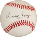 Autographs:Baseballs, 1988 Ronald Reagan Single Signed Baseball....