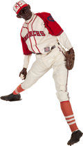 Baseball Collectibles:Others, 1970's Satchel Paige Life-Sized Wax Figure....