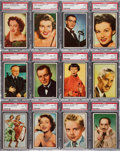 "Non-Sport Cards:Sets, 1953 Bowman ""TV & Radio Stars of NBC"" Complete Set (96) - #4 onthe PSA Set Registry. ..."