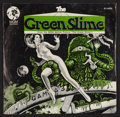 "Movie Posters:Science Fiction, The Green Slime (MGM, 1969). Theme Music 45 RPM Promo Record & Picture Sleeve (7"" X 7""). Science Fiction.. ..."