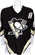 Hockey Collectibles:Uniforms, . 2006-07 Mark Recchi Game Worn Pittsburgh Penguins Jersey. ...