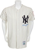 "Autographs:Jerseys, Circa 1990 Mickey Mantle ""No. 7"" Signed Jersey...."