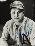 Autographs:Photos, 1950's Jimmie Foxx Signed Photograph....