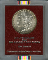 1897 $1 MS65 NGC. Ex: Redfield Collection. NGC Census: (1342/157). PCGS Population (1359/272). Mintage: 2,822,731. Numis...