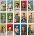 Baseball Cards:Lots, 1909-11 T206 White Border Collection (89)....