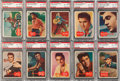 Non-Sport Cards:Sets, 1956 Topps Elvis PSA-NM-MT 8 Collection (23). ...