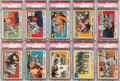 Football Cards:Sets, 1955 Topps All-American Football PSA-Graded Partial Set (28/100)....