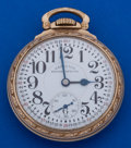 Timepieces:Pocket (post 1900), Hamilton 992 B Pocket Watch Scarce Double Sunk Montgomery Dial. ...