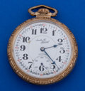 Timepieces:Pocket (post 1900), Illinois 21 Jewel Santa Fe Special Pocket Watch. ...