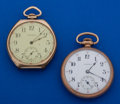Timepieces:Pocket (post 1900), Two 12 Size Pocket Watches Runners. ... (Total: 2 Item)