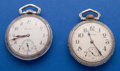 Timepieces:Pocket (post 1900), Two 17 Jewel 16 Size Pocket Watches Runners. ... (Total: 2 Items)