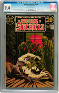 Bronze Age (1970-1979):Horror, House of Secrets #100 Savannah pedigree (DC, 1972) CGC NM 9.4Off-white to white pages....