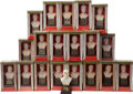 Baseball Cards:Sets, 1963 Baseball Hall of Fame Busts Complete Set (20) - Most InOriginal Boxes. ...