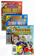 Modern Age (1980-Present):Humor, Archie Double Digests Box Lot (Archie, 1983-94) Condition: AverageVF....