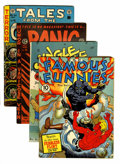 Golden Age (1938-1955):Miscellaneous, Comic Books - Assorted Golden Age Comics Group (Various, 1941-52).... (Total: 4 Comic Books)