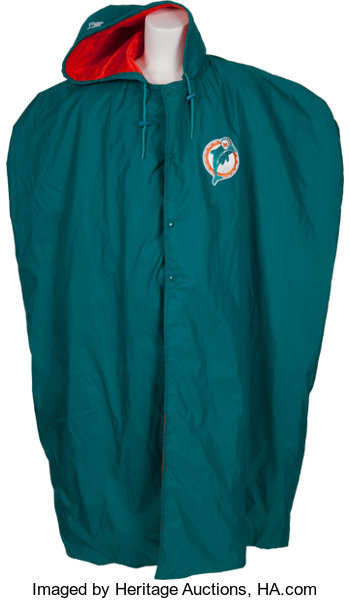 1995 Dan Marino Game Worn Miami Dolphins Sideline Cape.... Football ... fbfc097a9