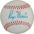 Autographs:Baseballs, Circa 1982 Mickey Mantle & Roger Maris Dual-Signed Baseball....