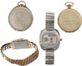 Hockey Collectibles:Others, 1925-76 Ice Hockey Presentational Watches Lot of 4....