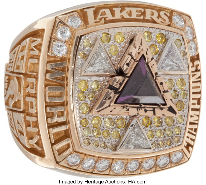 2002 Los Angeles Lakers Nba Championship Ring Basketball Lot 80994 Heritage Auctions
