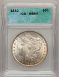 1882 $1 MS64 Prooflike ICG. NGC Census: (93/19). PCGS Population (93/29). Numismedia Wsl. Price for problem free NGC/PCG...