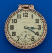 Hamilton 992 Elinvar Pocket Watch