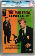 Silver Age (1956-1969):Adventure, Man from U.N.C.L.E. #12 (Gold Key, 1967) CGC NM+ 9.6 Off-white to white pages....